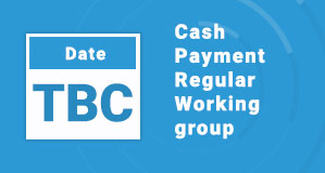 Cash Payment Regular Working group
